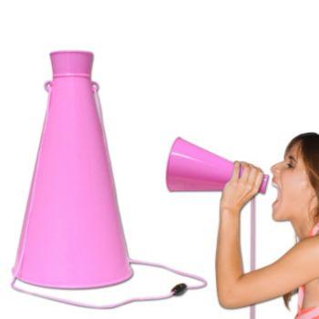 Pink Megaphone - 9 Inch
