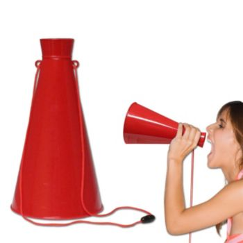 Red Megaphone - 7 Inch
