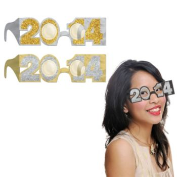 Black, Silver, and Gold 2014 Eyeglasses