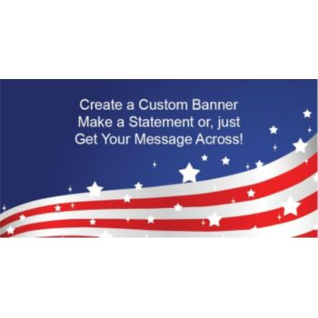 Stars and Stripes Custom Banner