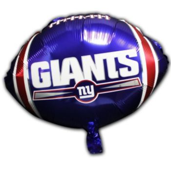 New York Giants Metallic Balloon - 18 Inch