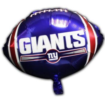 New York Giants Metallic Balloon - 18 Inch