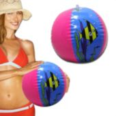 Inflatable Fish Beach Ball - 12 Pack
