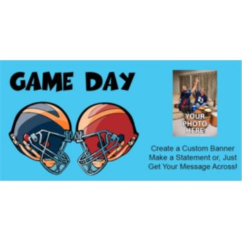 It's Game Day Custom Photo Banner