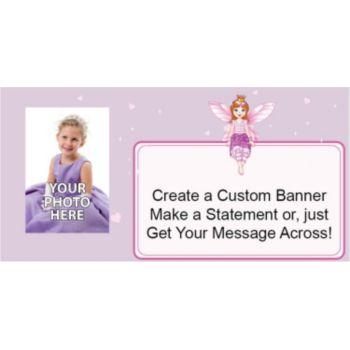 Fairy Princess Custom Photo Banner