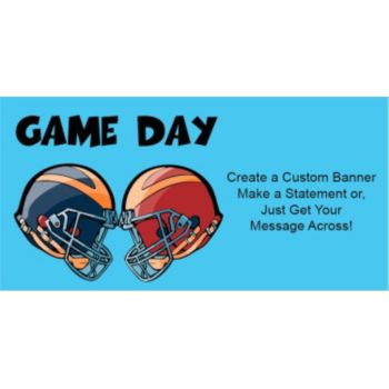 It's Game Day Custom Banner