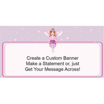 Fairy Princess Custom Banner