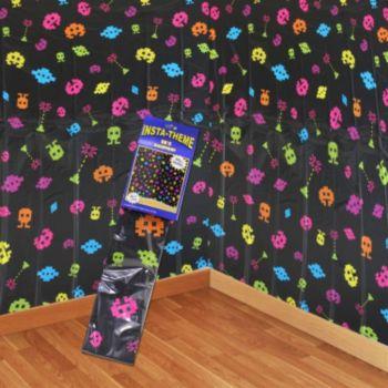 80's Arcade Scene Setter Room Roll