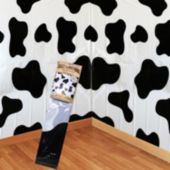 Cow Print Scene Setter Room Roll