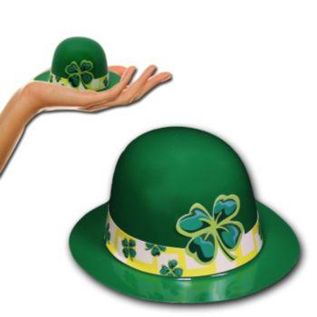 Mini Green Shamrock Derby Hat