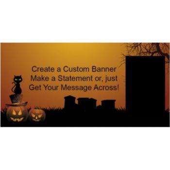 Halloween Haunting Custom Banner