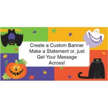 Friendly Frights Custom Banner