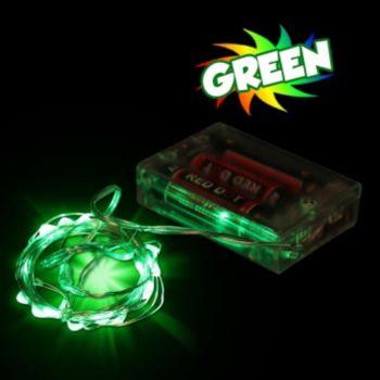 Green LED String Lights