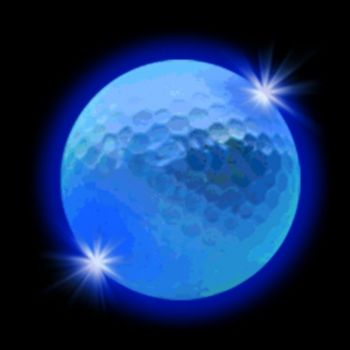 Blue LED Golf Ball