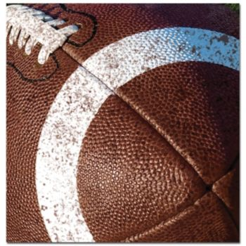 Football Tailgate Lunch Napkins- 18 Pack