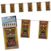 Tiki Pennant Banner Decoration