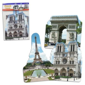 French Cutouts - 3 Pack