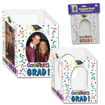 Congrats Grad Photo Centerpiece - 2 Pack