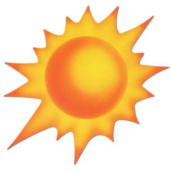 Sun Cutout Decoration