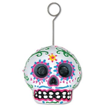 Day of the Dead Sugar Skull Photo Holder