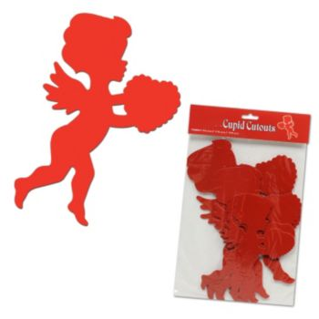 Cupid Cutouts - 6 Pack