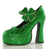 Shamrock (Green) Adult Shoes - 6