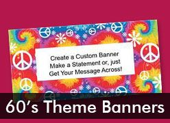 60's Custom Banners