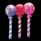 Inflatable Lollipops - 36 Inch, 12 Pack