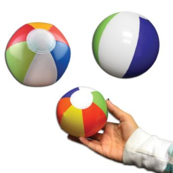Inflatable Beach Balls - 6 Inch, 12 Pack