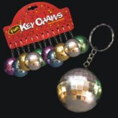 Mirrored Disco Ball Keychains