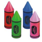 Crayon Shaped Savings Banks - 12 Pack