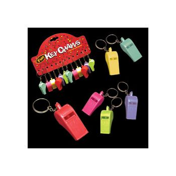 Whistle Key Chains