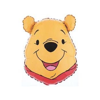 Winnie the Pooh Head Balloon - 26 Inch
