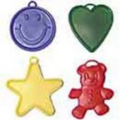 Assorted Primary Color Balloon Weights - 100 Per Unit