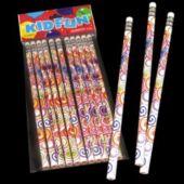 Psychedelic Tye Dye Pencils