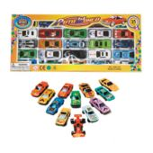 Car Set - 25 Pieces