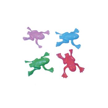 2 Inch Jumping Plastic Frogs