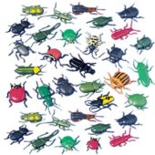 Toy Insect Assortment - 144 Pack