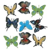 "2 1/4"" Butterflies - 12 Pack"