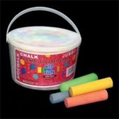 "36 Piece Bucket Of 4"" Sidewalk Chalk"