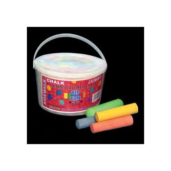 SIDEWALK  CHALK   36 PIECE BUCKET