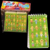 "4"" Notebooks With Multi-Cultural Children On the Cover"