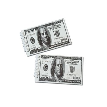 $100 BILL SPIRAL  NOTE PADS