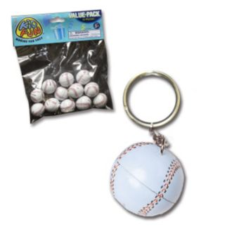 "3"" BASEBALL KEY CHAIN"