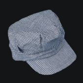 Train Engineer Cloth Caps-12 Pack