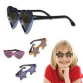 "5"" Metallic Sunglasses - Child Size"
