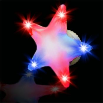 Flashing Star LED Blinkies - 12 Pack