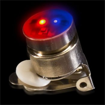 Red and Blue Round LED Blinky