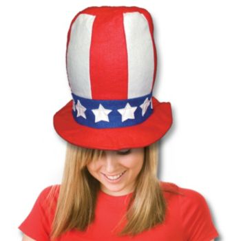 Patriotic Stove Top Hats