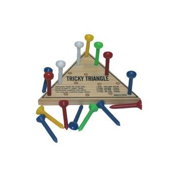 WOODEN TRIANGLE   SKILL GAMES